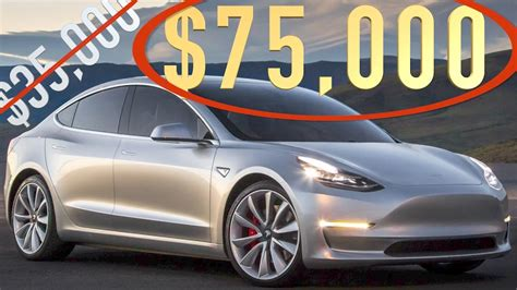 Tesla Model S Pricing And Options Tesla Model 3 Options Pricing
