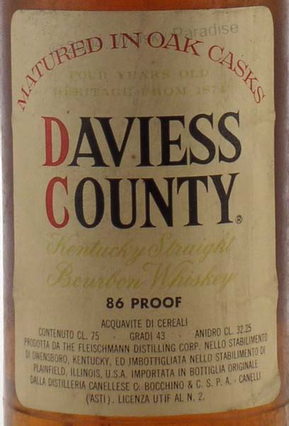 Daviess County Records Whisky Paradise There Are More Than 40000 Bottles In Our Cellars