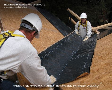 Peeling Spray Peeling Flashin roof deck valleys and sealed building america solution center