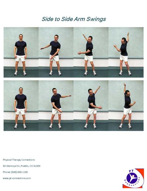 what are arm swings rotating functional exercises physical therapy in pueblo