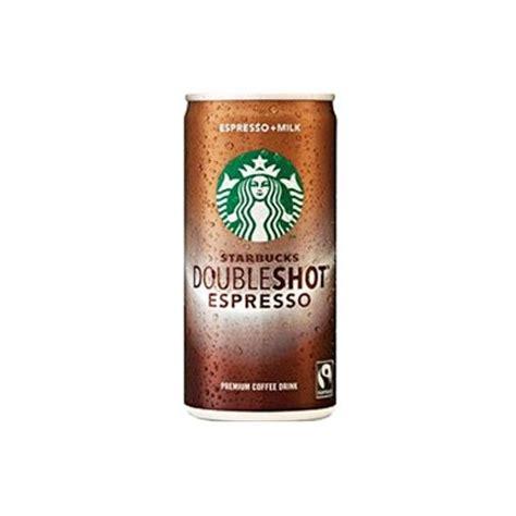 Starbucks Double Shot Espresso Premium Coffee Drink 200ml