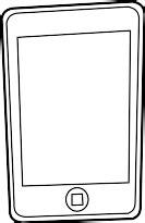 Iphone Coloring Pages Clipart Best Iphone Coloring Page