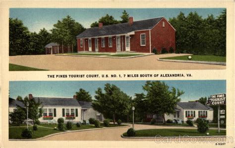 Virginia Judiciary Search Alexandria The Pines Tourist Court Alexandria Va
