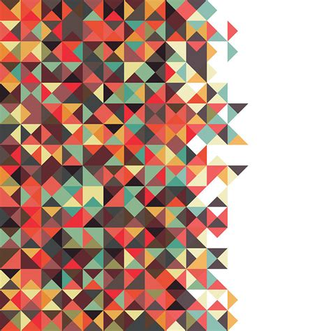 geometric pattern artwork geometric art digital art by mike taylor