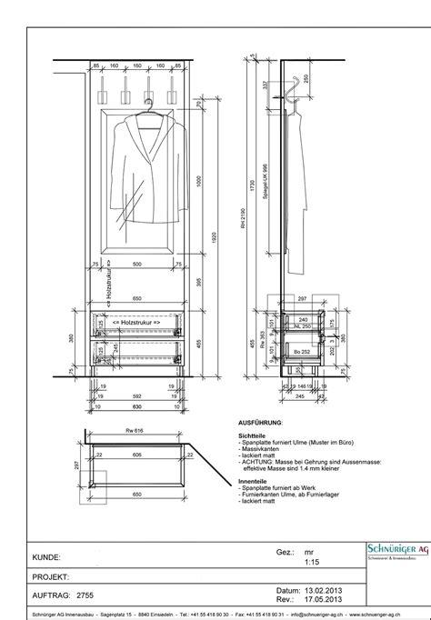 Schublade Schnitt by Schn 252 Riger Ag Schreinerei Und Innenausbau Einsiedeln