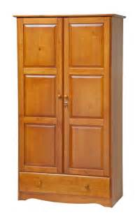 100 solid wood universal wardrobe armoire closet by