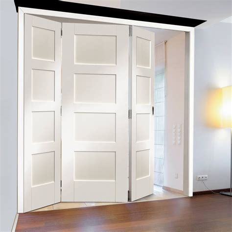 Trifold Closet Doors Multi Fold Interior Door Interior Doors Ideas