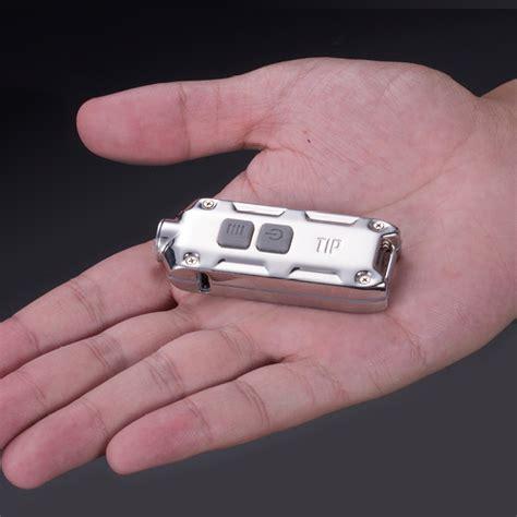Nitecore Tip Senter Led Mini Usb Rechargeable Cree Xp G2 S3 360 Lumens nitecore tip ss senter led mini usb rechargeable cree xp