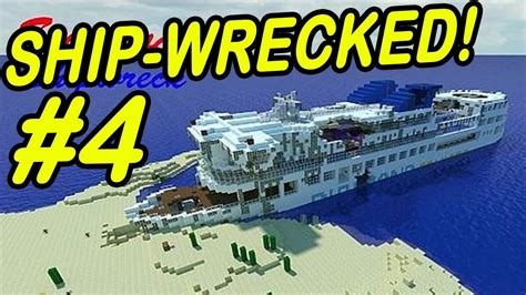 minecraft boat plane minecraft shipwreck quot the mysterious ship quot youtube