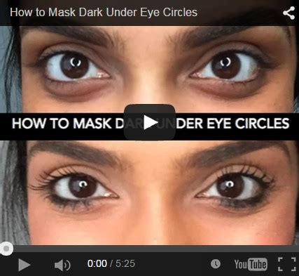 How Eye Circles Appear by Here Is One Way To Cover Eye Circles