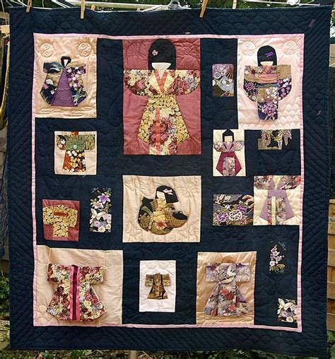quilt pattern japanese 43 best kimono quilts images on pinterest bricolage