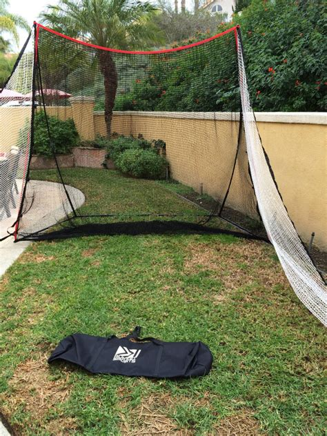 backyard golf net rukket haack golf net review practicing made easy from