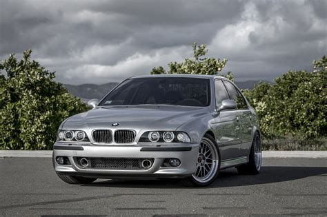the bmw e39 m5 is an epitome of clean and