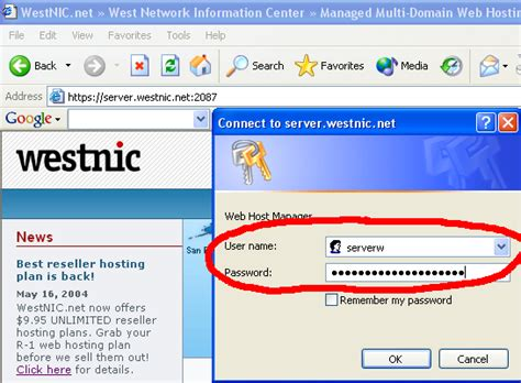 tutorial web host manager westnic online tutorials first steps how to create