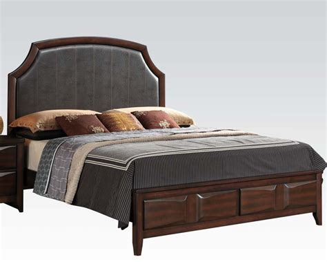 Platform Beds Lancaster Pa Modern Bed Lancaster By Acme Ac24570bed