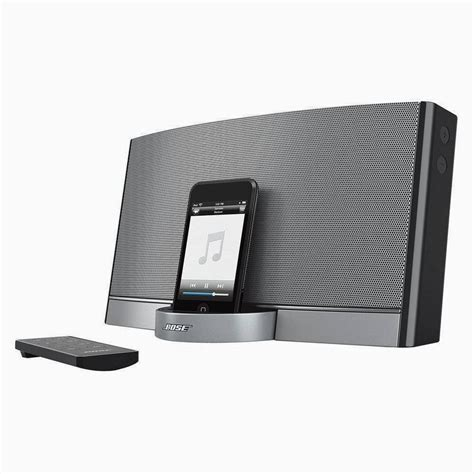 Speaker Mp3 Bose Best Bose Sounddock Portable 30 Pin Ipod Iphone Speaker