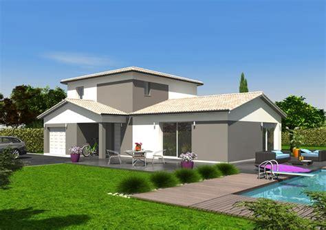 Plan De Maison Plain Pied Gratuit 3147 by Maison 100m2 Etage