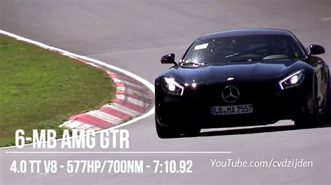 Fastest Cars Around Nurburgring by Fastest Cars Around The N 252 Rburgring 2018