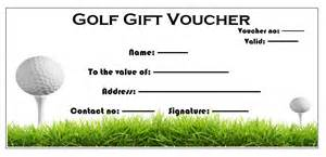 golf lesson plan template 11 free gift voucher templates microsoft word templates