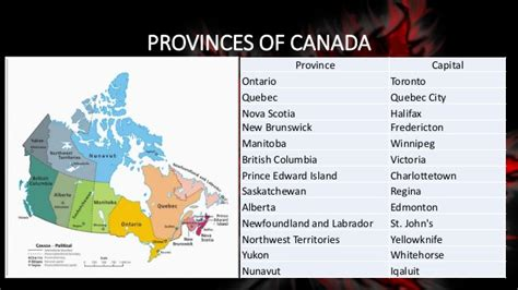 canadian map of provinces and capitals canada capital cities of provinces wine regions and
