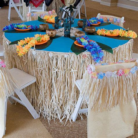 hawaiian table decorations ideas please plan my party disney moana party ideas