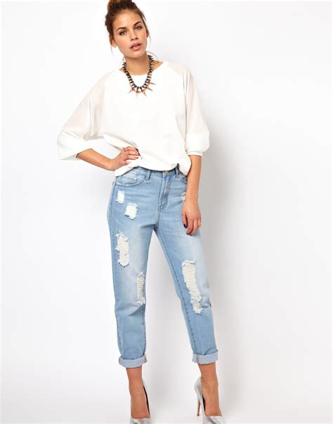light wash distressed shorts boyfriend jeans light wash jeans to
