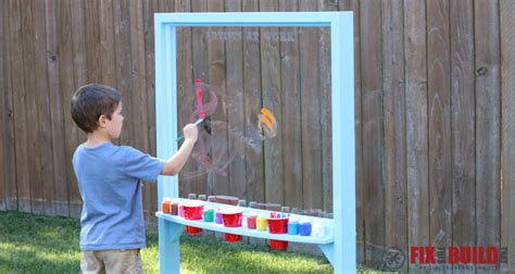 kids outdoor acrylic painting easel fixthisbuildthat