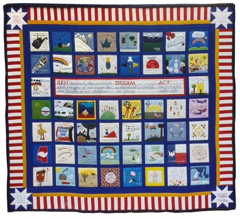 Quilt Org by 5 1 4 National Peace Quilt World Quilts The American Story