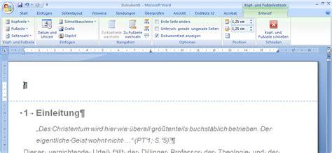 Word Vorlage Jede Seite Gleich kopfzeile und fu 223 zeile in word 2010