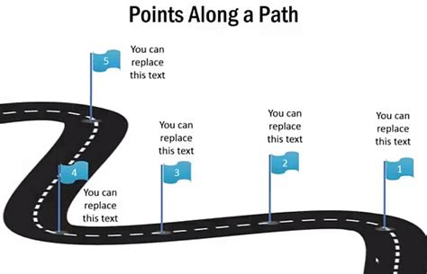 road map powerpoint template free how to draw a 3d roadmap in powerpoint powerpoint
