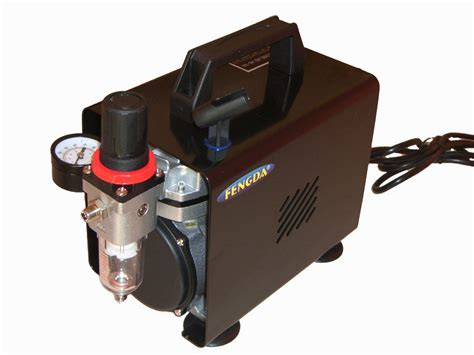 Kompresor Mini Air Brush Compressor Mini Prohex B17 N115 airbrush hobby kompressor mit deckel fengda 174 as 18 b