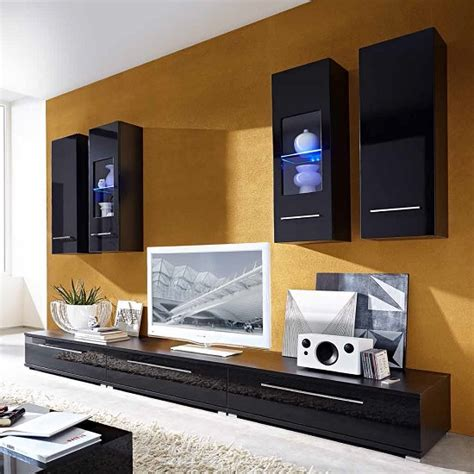 Store Black Gloss Furniture Gloss Living Room Furniture