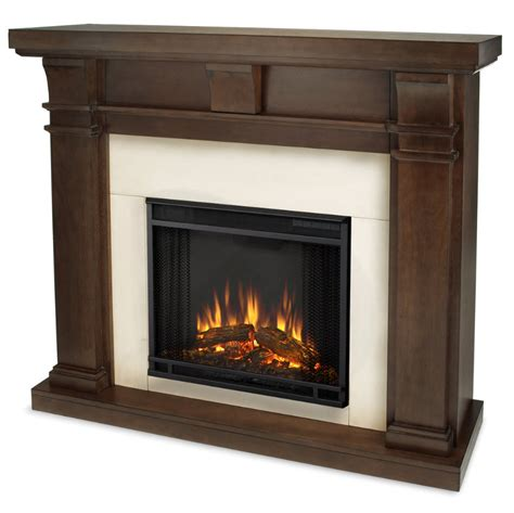 Electric Black Fireplace by 49 9 Porter Vintage Black Mahogany Slim Electric Fireplace