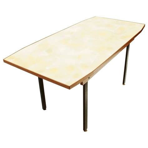 Yellow Dining Table Italian Dining Table With Yellow Glass Top For Sale At 1stdibs