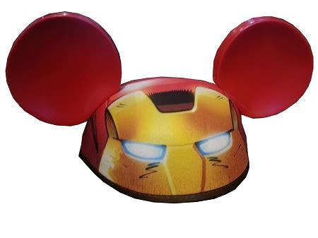 disney hat ears hat marvel iron man