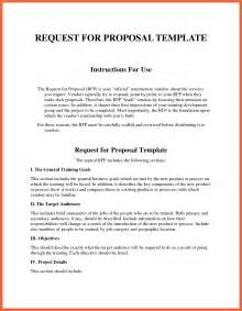rfp request for template rfp exles bio exle