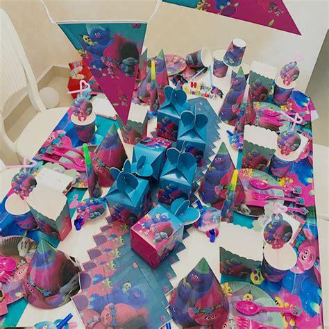 trolls party supplies  children birthday party
