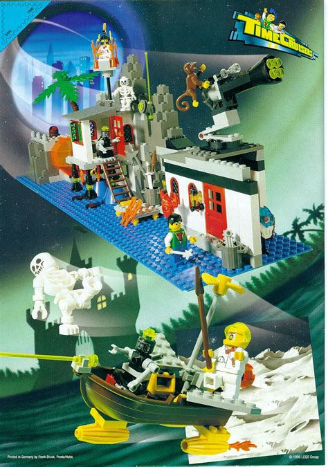 lego  magic mountain time lab instructions time cruisers