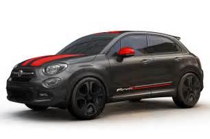 Fiat Accessories Mopar Ize The 2016 Fiat 500x With Special Accessories