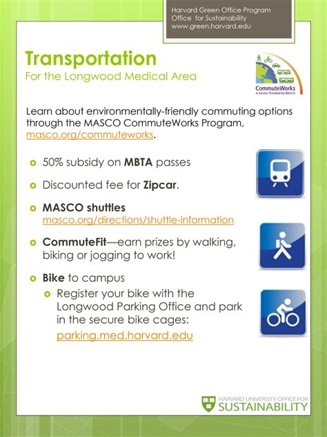 transportation research paper topics green office resources sustainability at harvard