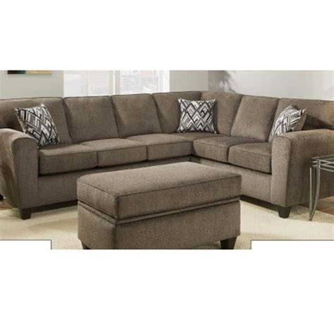 pewter sectional pewter sectional the furniture shack discount