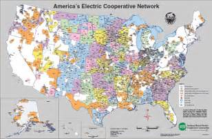 electric cooperatives map maps