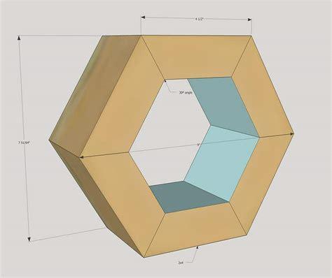 diy hexagon planter    scrap wood
