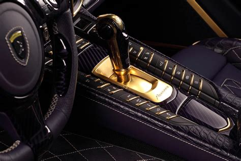 porsche gold 2014 porsche panamera dressed in crocodile leather and gold