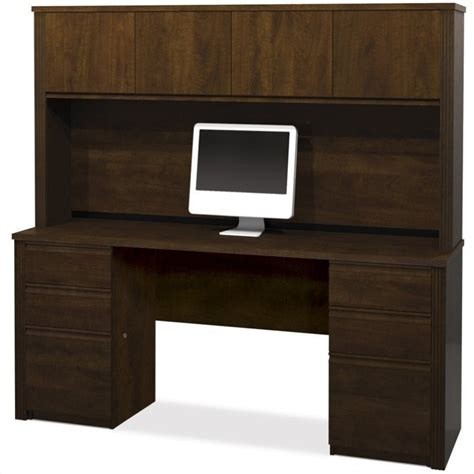 computer desk with hutch and file cabinet stanford 48 quot computer desk set in antique black and hansen