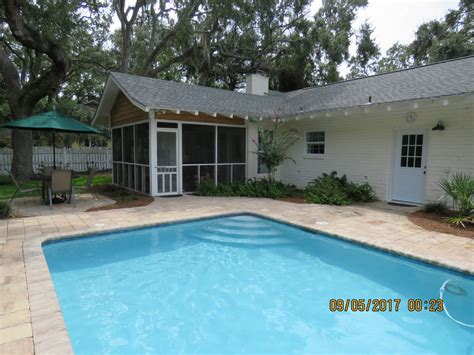 East Coast Cottage Rentals by St Simons East Cottage W Pool Simons