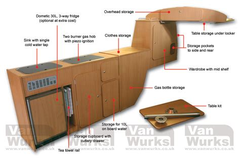 vw kombi interior layout ideas classic interior for volkswagen t2 bay window from 163 1 950