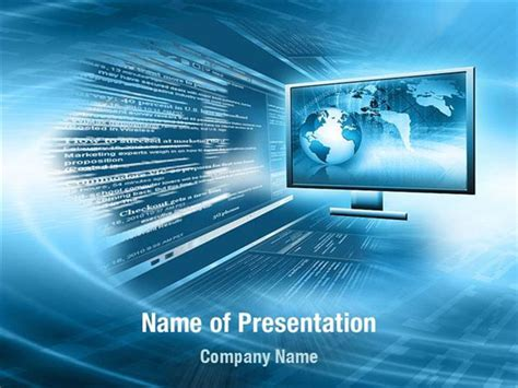 internet targeting powerpoint templates internet