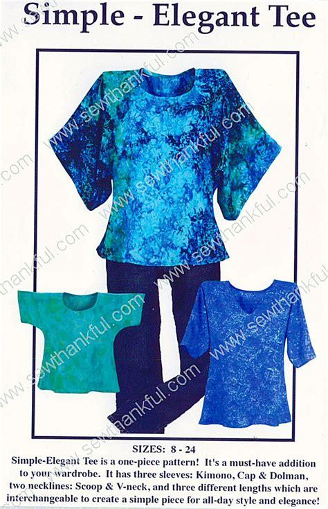 simple pattern company on special simple elegant tee sewing pattern by karen