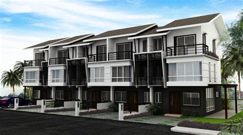 Triplex Plans by Townhouse Mahogany Place
